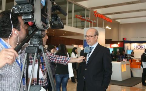 Entrevista de TVE al Dr. Muela en el congreso Eerod-aea Sevilla 2014.