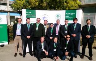 El Dr. Ribera con las máximas figuras europeas de cirugía de cadera en Madrid.