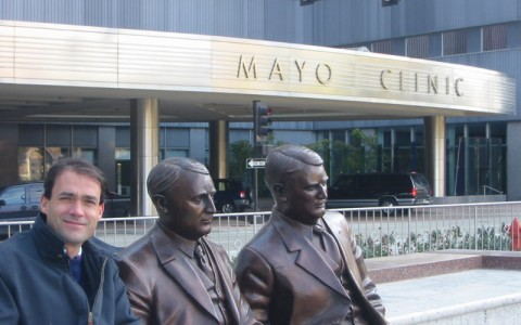 El Dr. Ribera en la Mayo Clinic. Rochester. Minnesotta. EEUU.
