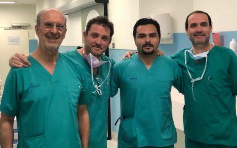 Cirugía de cadera en Sevilla: estancia del fellow chileno Dr. López Reyes en el equipo COT