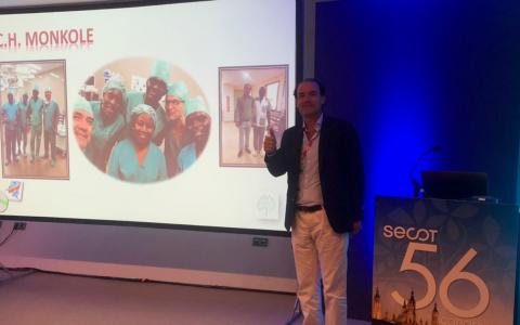 El Dr. Ribera presenta su programa de prótesis total de cadera realizado en Kinshasa ( R.D. del Congo).