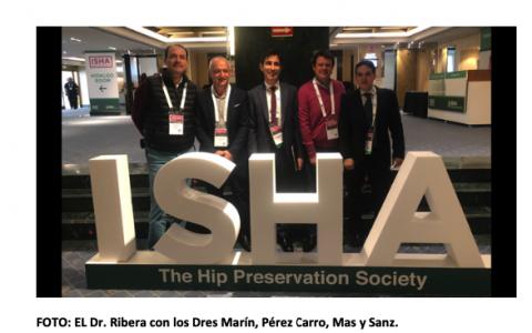 El Dr. Ribera en el Congreso Mundial de Artroscopia de Cadera ISHA 2019