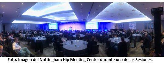 """Magnífico """"NOTTINGHAM REVISION HIP MEETING 2019 """" con la presencia del Dr. Ribera"""