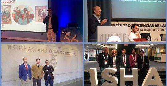 Clínica Cot y su compromiso por la salud a través de su presencia en conferencias y congresos