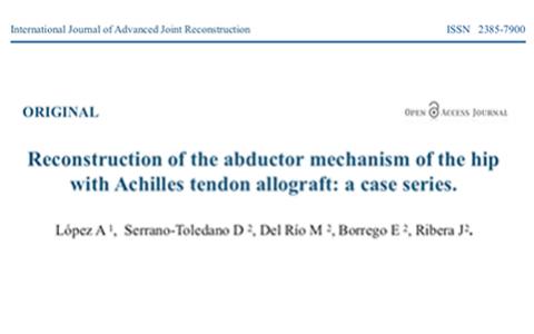 Publicamos en el International Journal of Advanced Joint Reconstruction