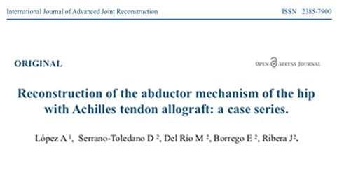 Publicamos en el International Journal of Advanced Joint Reconstruction