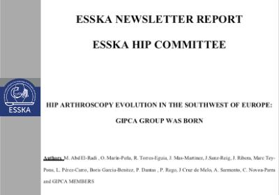 Publicamos en Newsletter de la Sociedad Europea de Traumatología Deportiva y Artroscopia ( ESSKA )